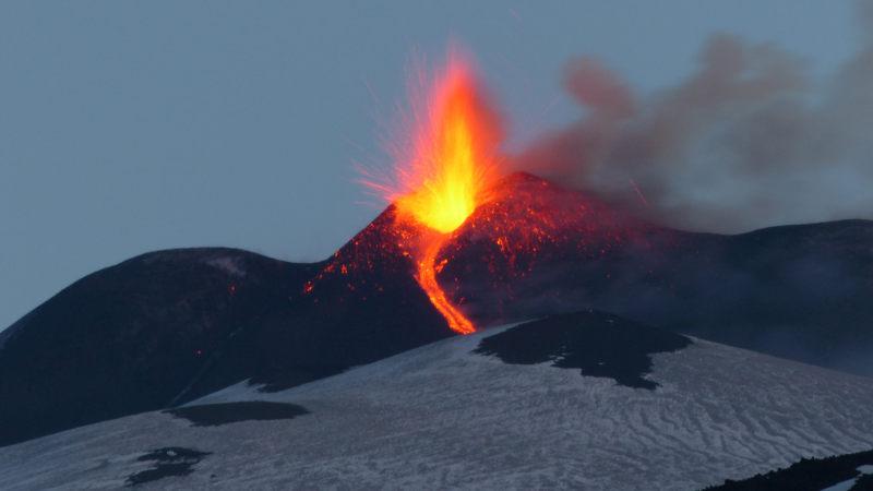 Eruzione Etna 2017